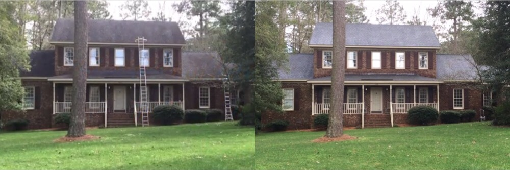Roof Cleaning in Pinetops, North Carolina