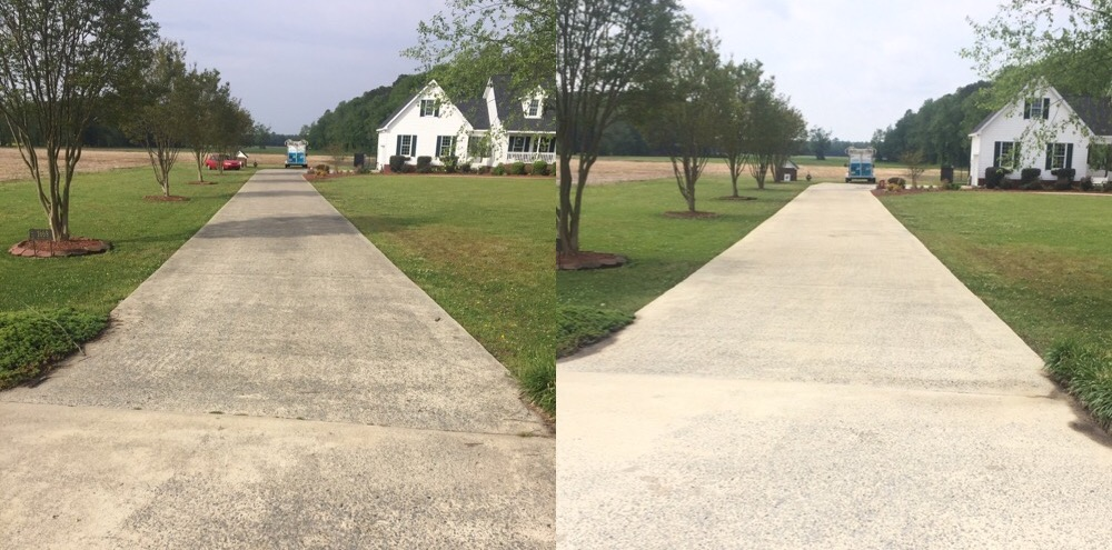 Concrete cleaning clean pro exterior for Outdoor concrete cleaner